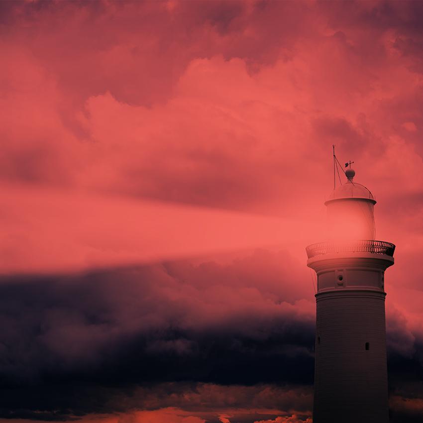 Symbolbild Leuchtturm
