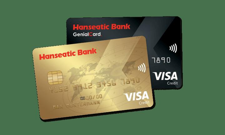 Hanseatic Bank Kreditkarten GenialCard GoldCard