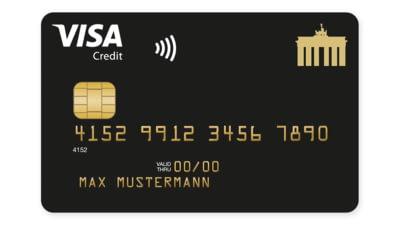 Abbildung Deutschland-Kreditkarte Gold