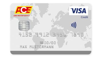 Abbildung ACE-KreditKarte