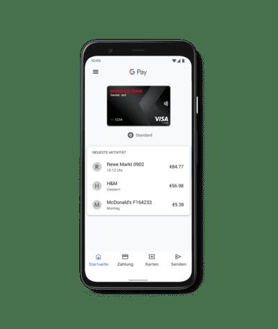 Hanseatic Bank Google Pay