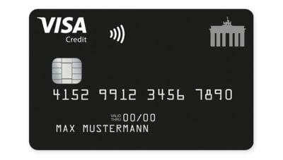 Abbildung Deutschland-Kreditkarte Classic