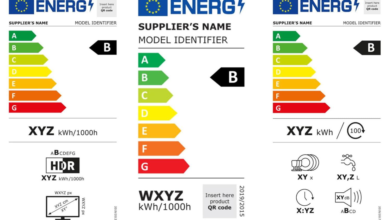 Neue Energielabel für TV, Lampen und Geschirrspüler