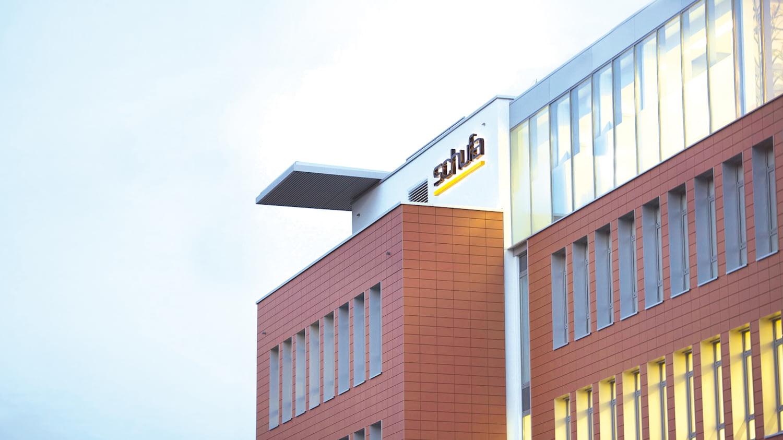 Gebäude der Schufa-Zentrale in Wiesbaden Schierstein