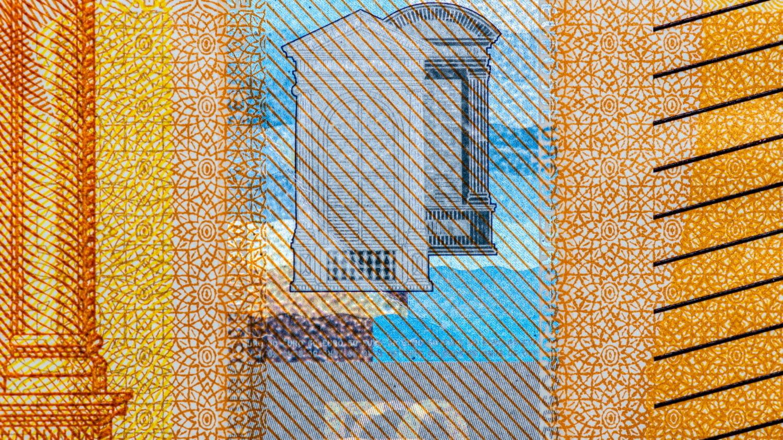 Geldschein Merkmal Hologramm-Streifen