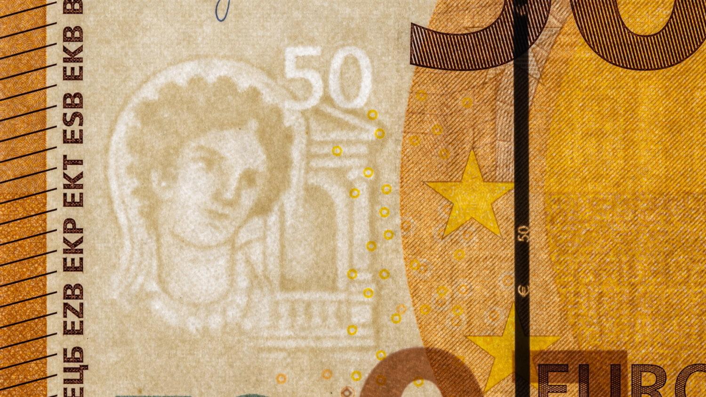 Geldschein Sicherheitsmerkmal Wasserzeichen