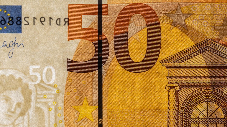 Geldschein Merkmal Sicherheitsfaden